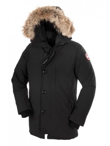 Canada Goose Chateau Parka мужская чёрная