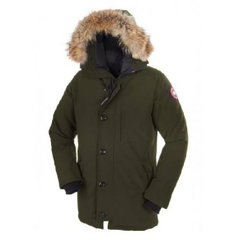 Canada Goose Chateau Parka мужская зелёная