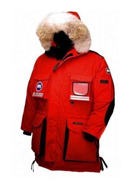 Canada Goose Snow Mantra Parka мужская красная