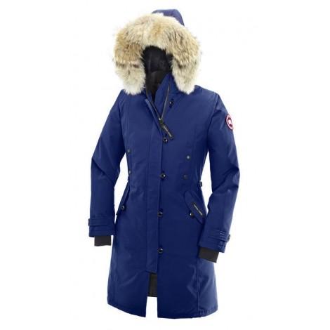 Canada Goose Kensington Parka женская синяя