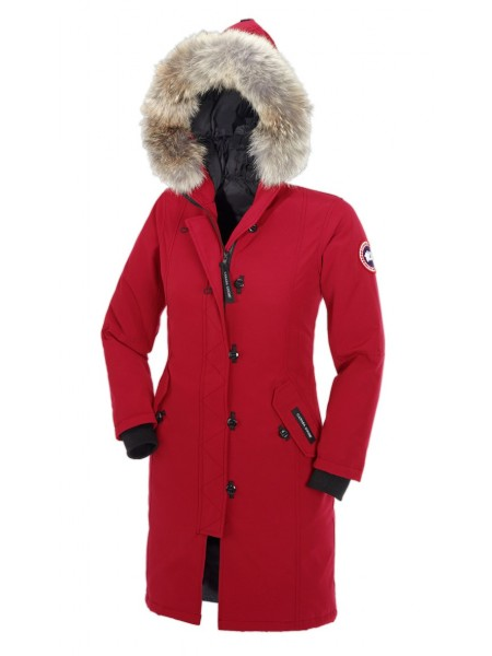 Canada Goose Kensington Parka женская красная