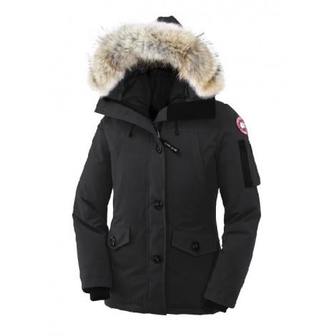 Canada Goose Montebello Parka женская чёрная