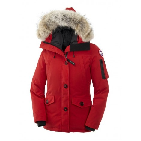 Canada Goose Montebello Parka женская красная