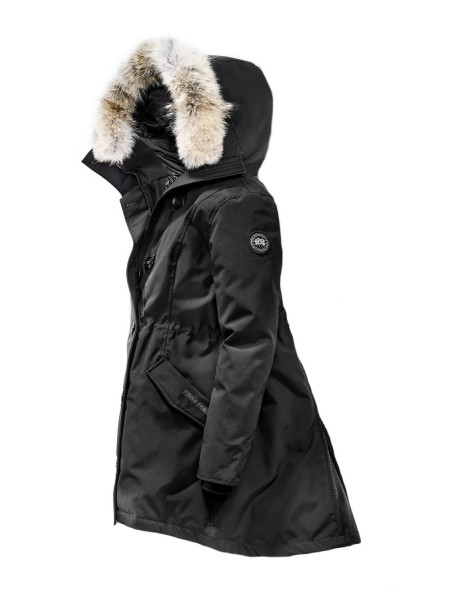 Canada Goose Rossclair Parka Black Label женская чёрная