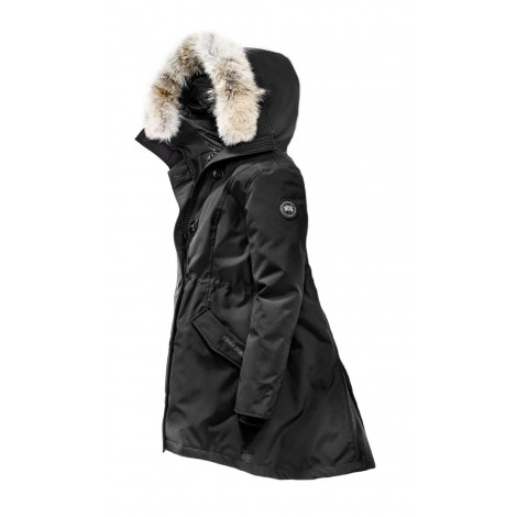 Canada Goose Rossclair Parka Black Label женская чёрная