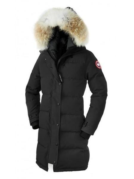 Canada Goose Shelburne Parka женская чёрная