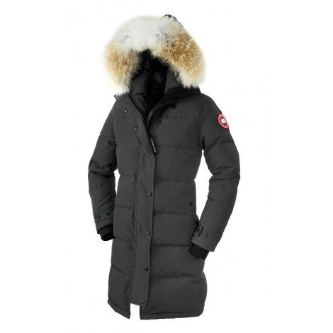 Canada Goose Shelburne Parka женская серая