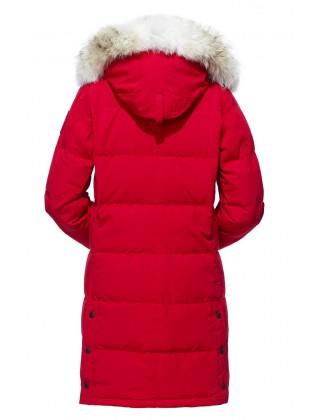 Canada Goose Shelburne Parka женская красная