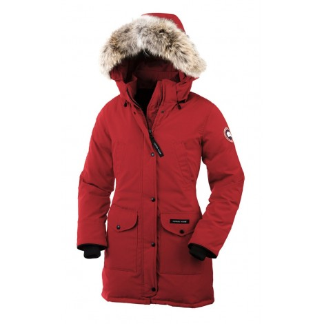 Canada Goose Trillium Parka женская красная